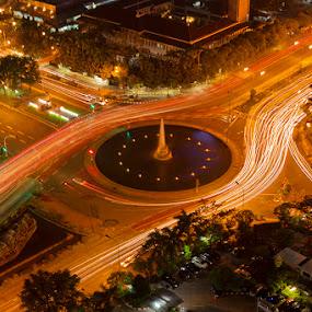 by Abah otox Baratawiria - City,  Street & Park  Vistas
