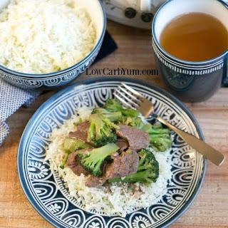 Slow Cooker Crock Pot Beef and Broccoli.