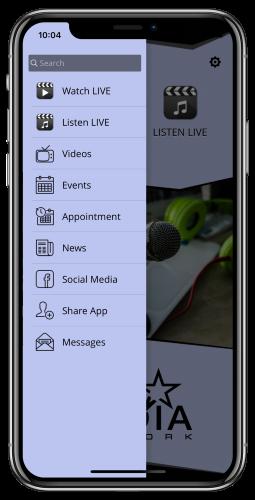 UI Media App Download Page