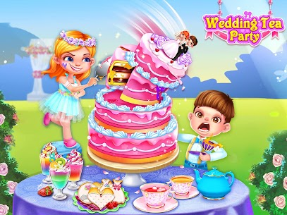 Wedding Tea Party Cooking Game 4