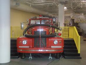 Photo: big red fire truck