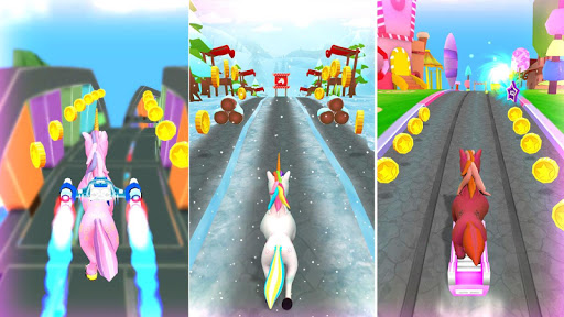 Unicorn Runner 2020: Running Game. Magic Adventure filehippodl screenshot 4