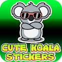 1000+ Cute Koala Stickers Animated Moving 2021 icon