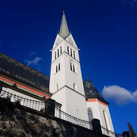 The Church of St. Martin in Bled by Dražen Komadina - Buildings & Architecture Places of Worship ( slovenia, bled, kom@dina, the church of st. martin in bled, dražen komadina )