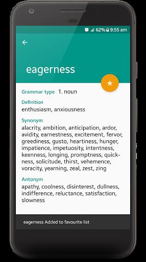 English Thesaurus 2.6 screenshots 5