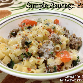 Simple Sausage And Pasta Recipes