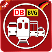 Route Planner: DB Timetable, BVG Route train Metro