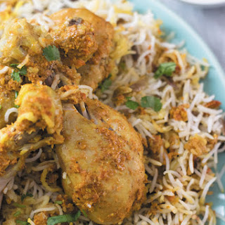 Slow Cooker Chicken Biryani.