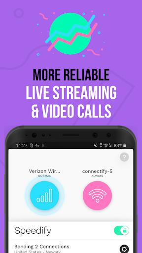 Speedify - Bonding VPN screenshot 3