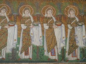 Photo: Mosaics in the Basilica of Sant'Apollinare Nuovo