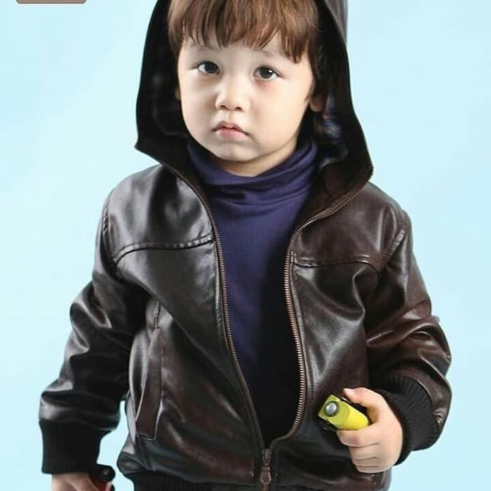 jaket kulit anak kecil