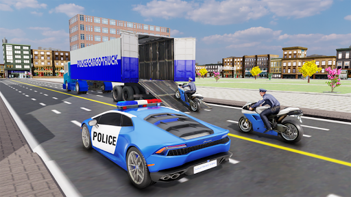 US Police Transporter Plane Simulator screenshot 4