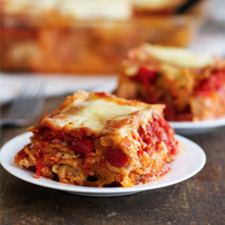Whole Wheat Roasted Veggie Lasagna