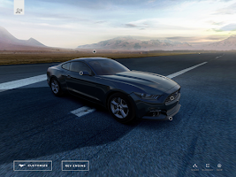 Screenshot of 2014 Mustang Customizer