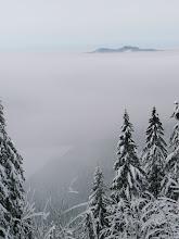 Photo: Spektakulär: Blick von der Seewand auf den Kleiner Arbersee und Osser