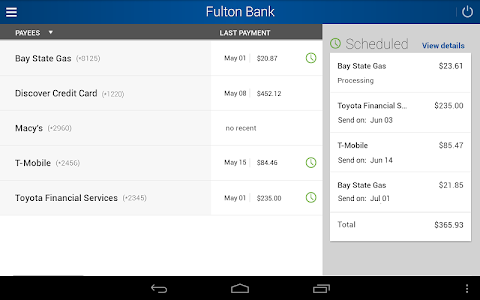 Fulton Bank Mobile Banking screenshot 8