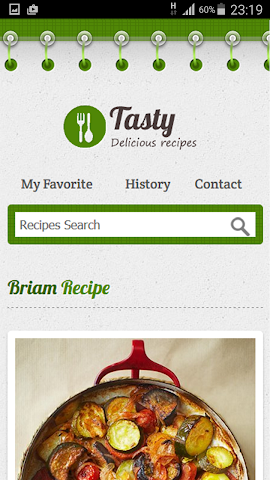 android Greek Recipe Screenshot 5