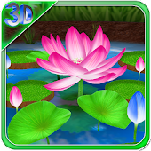 Lotus 3D Live Wallpaper