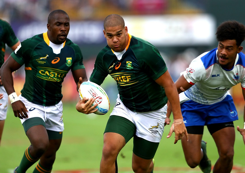 Brilliant Blitzbokke bag Dubai sevens title