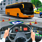 Modern Bus Parking Sim 2017 : Bus Games