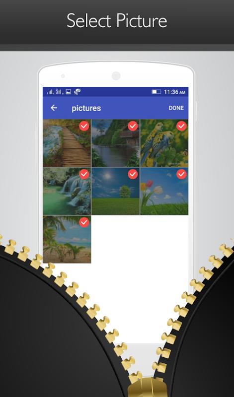 Free File Zip, Unzip Tool, File & Folder Extractor screenshots