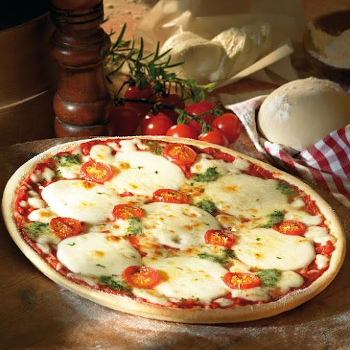 Abbildung Steinofen-Pizza Mozzarella