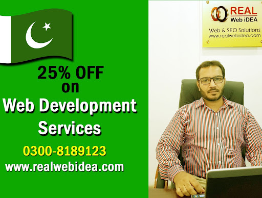 Web Development Company Lahore | REAL Web iDEA on Google