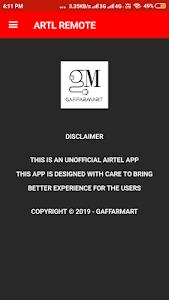 Airtel Remote App