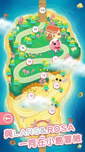 Lars & Rosa Bubble Game  captures d'écran 1