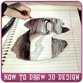 How to Draw 3D Design