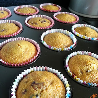 Healthy Cranberries Wholemeal Muffins