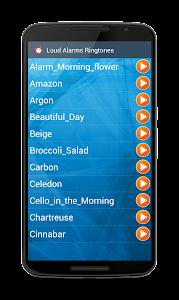 Loud Alarms Sounds Ringtones screenshot 3
