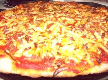 Bbq Chicken Pizza On Whole Wheat Crust Recipe
