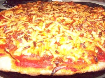 Bbq Chicken Pizza On Whole Wheat Crust Recipe