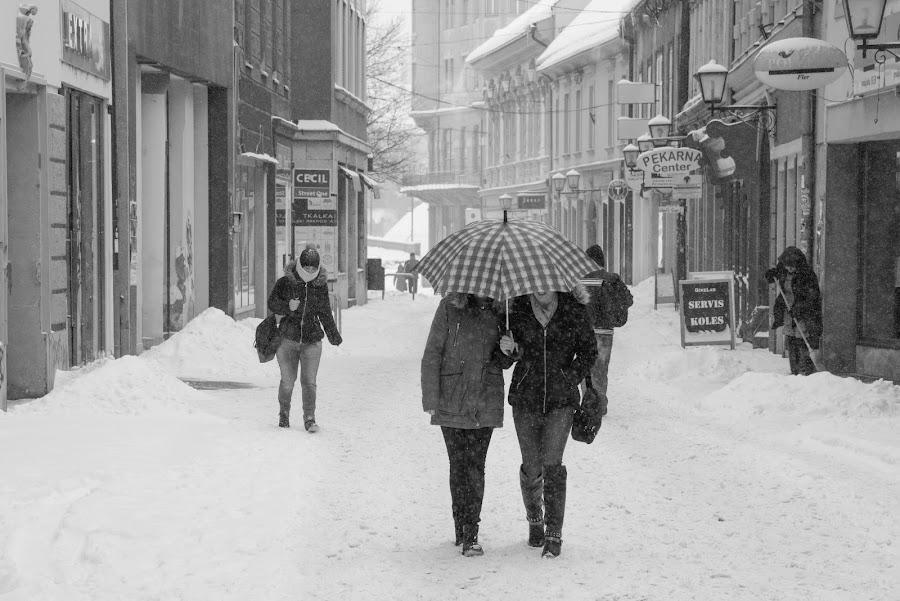 Umbrella by Dušan Gajšek - People Street & Candids
