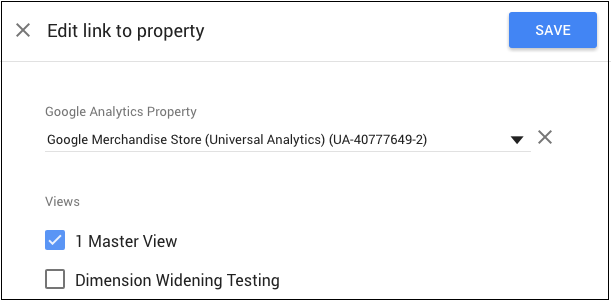 Optimize property linking panel.