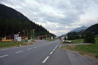 Photo: I ponowny podjazd tym razem do granicy z Włochami.
