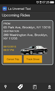 La Unversal Taxi- Cars & Taxi Booking App- screenshot thumbnail