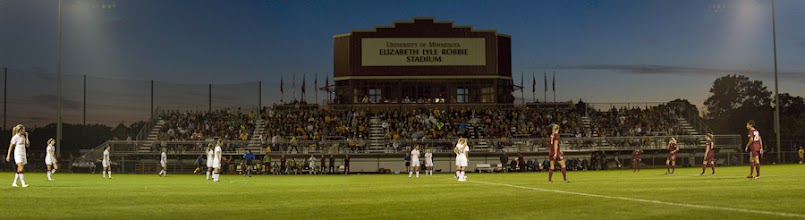 Photo: 2012 Minnesota Gopher Soccer hosts #4 in the nation Florida State-- copyright Christopher Mitchell / Sport Shot Photo