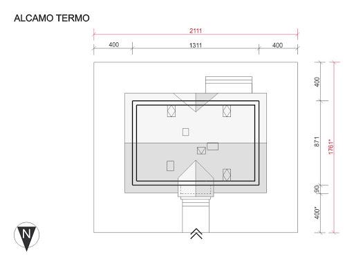 Alcamo Termo - Sytuacja