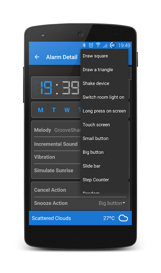 Turbo Alarm - Alarm Clock- screenshot