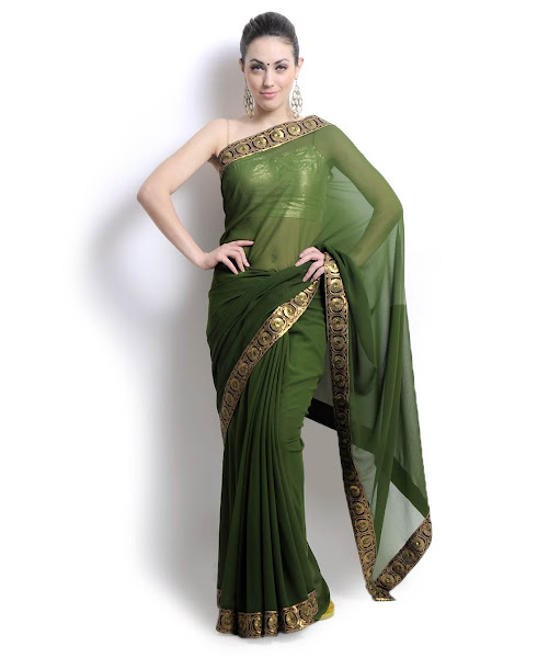 Photo: Filled with lush #colours and an array of exquisite #designs, this #collection of #saree speak of #beauty in leaps and bounds.  Available on www.fashionandyou.com! Members: http://fashionandyou.com/fashionandyou-client-http-shop/shop/category/12APR28STA8443  Non-members: http://gplus.fashionandyou.com #fashionandyou