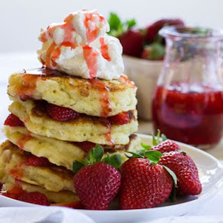 Strawberry Shortcake Pancakes Recipe