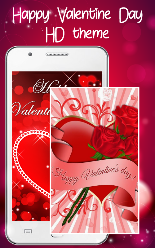 Happy Valentine Day HD theme - Android Apps on Google Play