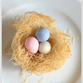 Edible Easter Egg Nests