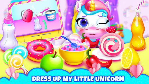My Little Unicorn: Games for Girls apkpoly screenshots 3