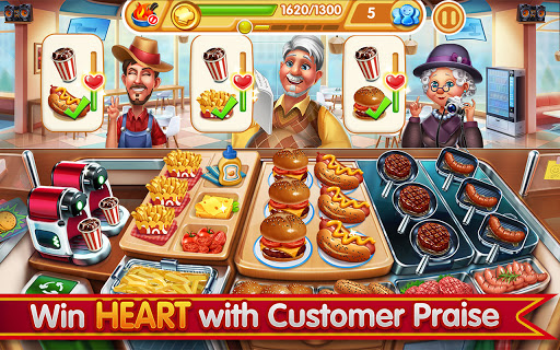 Cooking City: frenzy chef restaurant cooking games 1.82.5017 screenshots 19