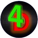 4 in Dimension - Terror Tic Tac Toe icon