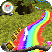 Temple Unicorn Dash 3D: Jungle Run Adventure