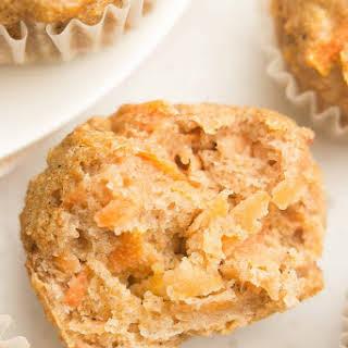 Healthy Carrot Cake Mini Muffins.